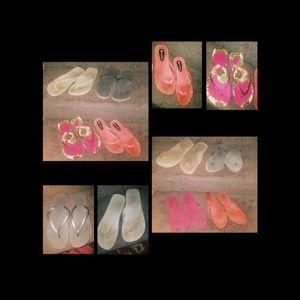 Flip flops lot